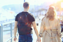 Lovers Couple Budapest Walk, S...