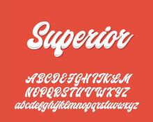Superior Lettering Script Desi...