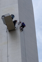 Abseiling Down The Spinnaker Tower For Charity