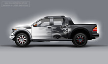Editable Template For Wrap SUV...