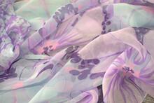 Tessuti, Stoffe Colorate Con S...