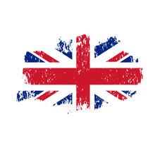 Vector Grunge Flag Of United K...