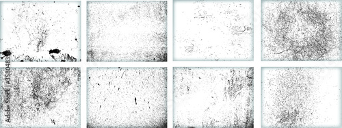 Fototapeta Grunge Background.Texture Vector.Dust Overlay Distress Grain ,Simply Place illustration over any Object to Create concrete Effect .abstract,splattered , dirty,poster for your design.  obraz