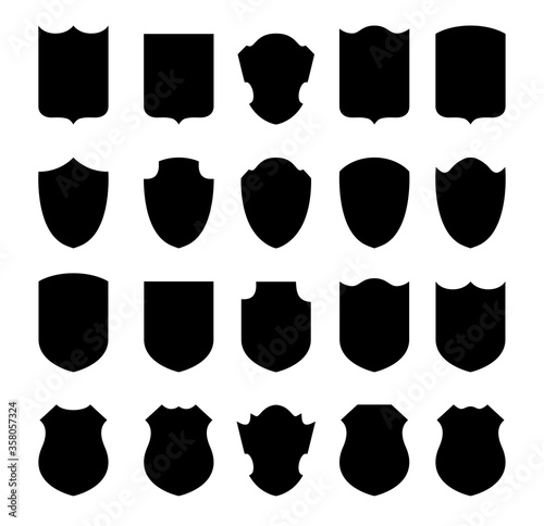 Set of shields #358057324