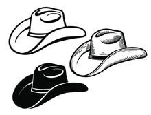 Cowboy Hat. Set Of American Tr...
