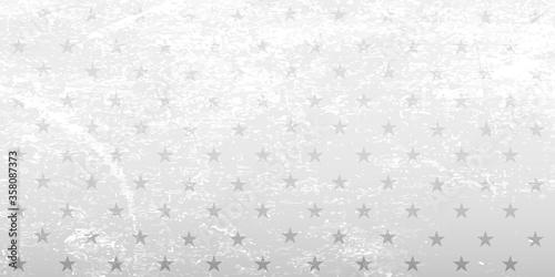 Obraz White background with stars. Vector grange illustration. - fototapety do salonu
