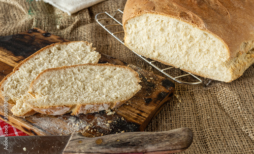 Chleb własnej roboty Canvas-taulu