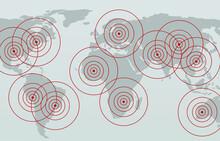 World Map Crisis Background