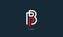Alphabet Letter Icon Logo BP O...