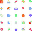 Christmas Vectors Icons 1