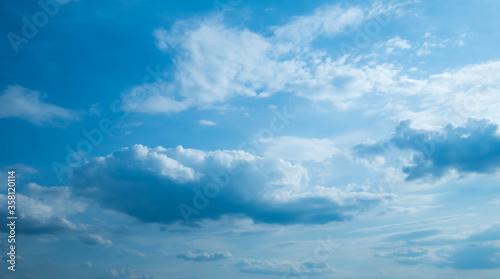 Chmury na niebie Canvas Print