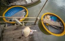 High Angle Shot Of Vietnamese ...