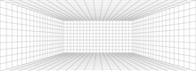 Room Perspective Grid Backgrou...