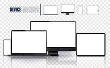 Realistic Device Set: Pc, Moni...