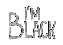 Graphic Black And White Letter...
