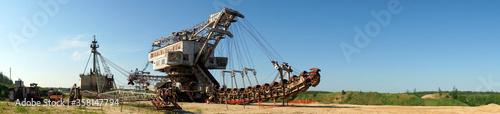 Big excavator © Valery Shanin