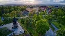 Gunilla Bell At Uppsala Castle In Sweden