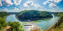 Panoramic Landscape Of River R...