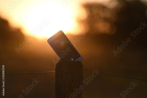 Photo Lonely Phone