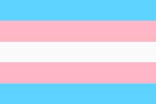 Transgender Pride Flag Backgro...