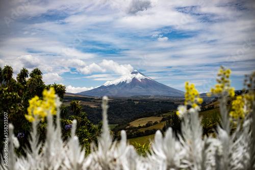 Photo Paisaje del Cotopaxi en Ecuador