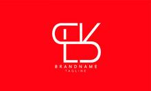 Alphabet Letters Initials Monogram Logo SLK, SL, LK
