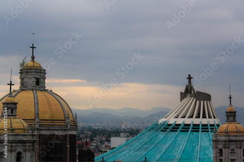 Photo La Villa, CDMX / Mexico - Dec 2009 La Villa de Guadalupe is located in Mexico Ci