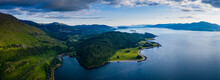 Aerial Image Of Loch Linnhe On...