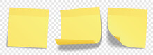 Yellow Stick Notes Set – Rea...