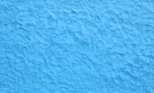 Blue Plasticine Texture Background. Modeling Clay Material Pattern..