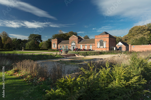 Derby, Derbyshire, UK: October 2018: Orangery in Markeaton Park Wallpaper Mural