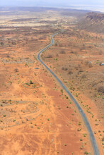 Aerial View Of The Road To Lak...