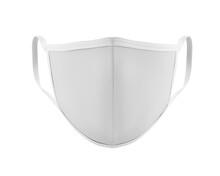White Face Mask Mockup, Blank ...
