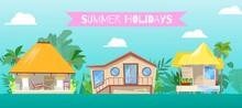 Summer Holiday, At Flat Beach ...