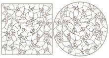 Set Of Contour Illustrations I...