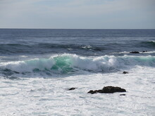 Waves In Carmel-by-the-Sea In ...