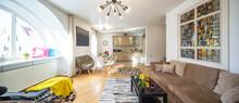 Modern Interior Of Living Area...