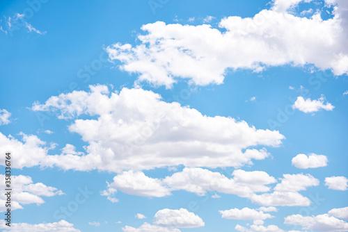 Cielo y nubes Canvas Print