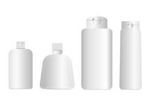 3D Plastic Bottles For Cosmeti...