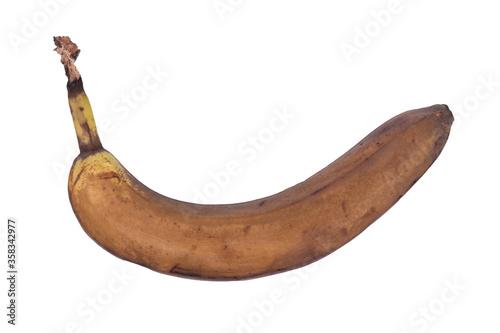Single closed overripe banana Tapéta, Fotótapéta