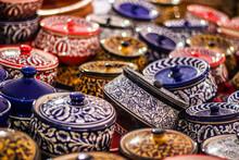 Colorful Ceramic Pottery