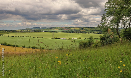 Tela An English Rural Landscape in the Chiltern Hills