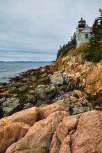 Bass Harbor Lighthouse, Mount Desert Island, Maine