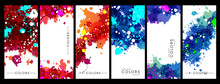 Colorful Artistic Banners With...