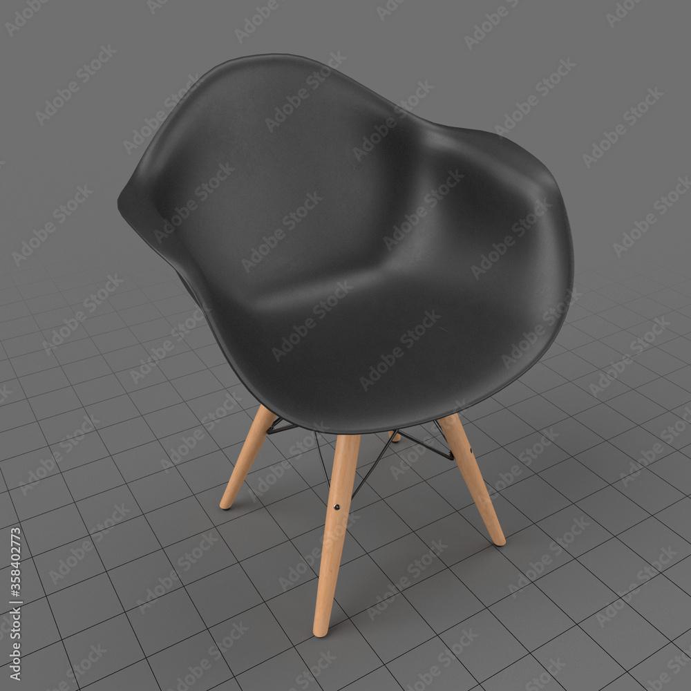 Fototapeta Shell chair