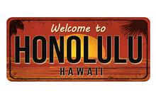 Welcome To Honolulu Vintage Ru...