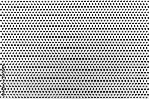 White steel mesh screen as background and texture Canvas