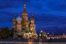 Night View Of The Domes Of The...