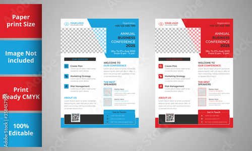 Fototapety, obrazy: Creative Business Flyer Template