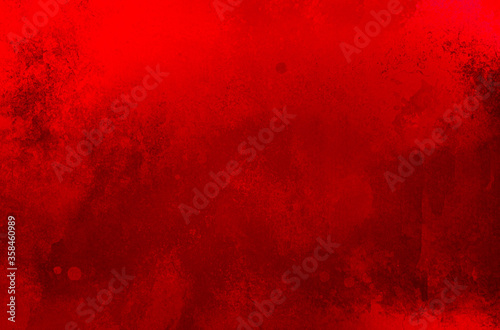 Fotomural Red background, Christmas background texture with grunge and old distressed vint